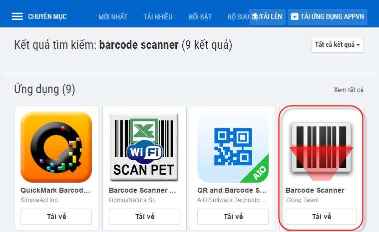 Phần mềm kiểm tra mã vạch mỹ phẩm