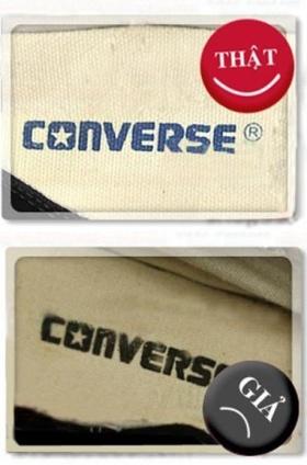 Cách phân biệt giày Converse thật – giả