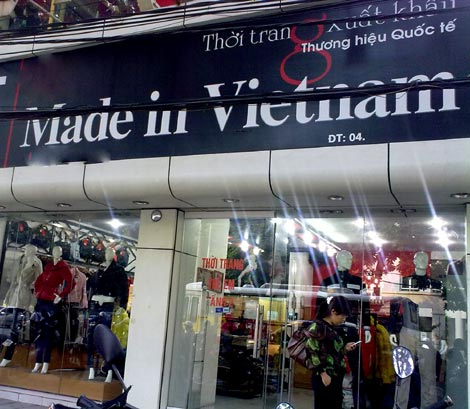 Hàng Việt Nam xuất khẩu xịn, nhìn là biết ngay