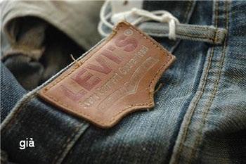 Phân biệt quần Jean Levi's 501 thật – giả