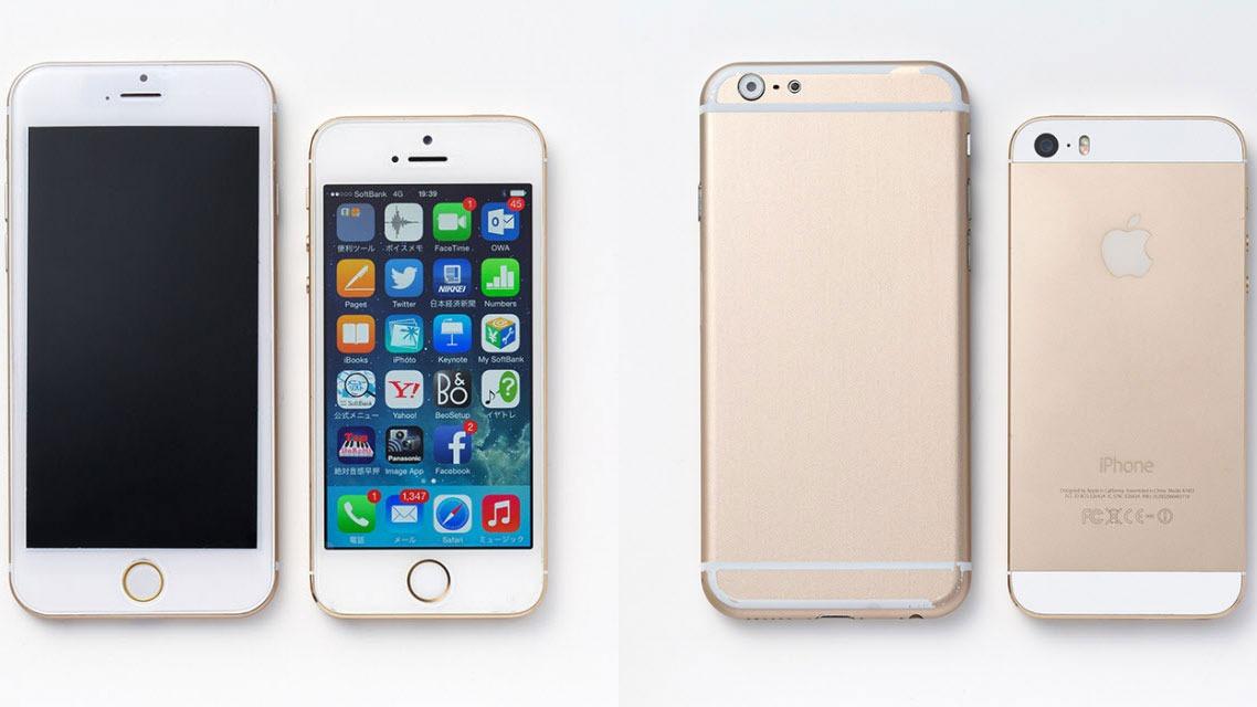 Quan sát phần phía trên màn hình Iphone 6