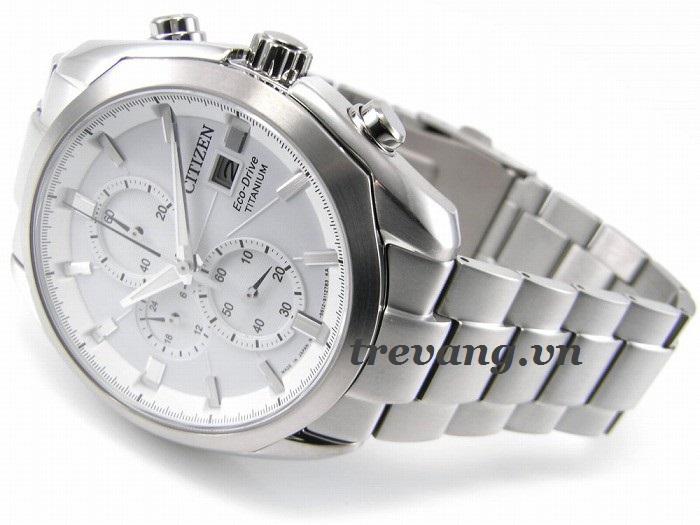 Mặt trước & dây đeo đồng hồ nam Citizen CA0021-53A