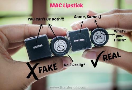Dấu hiệu nhận biết son Mac thật và fake