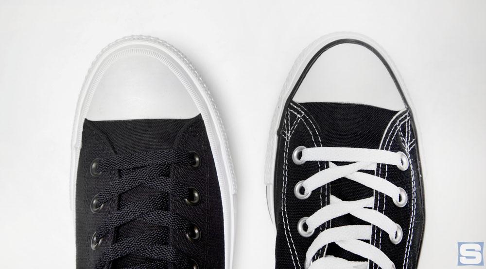 Những khác biệt cơ bản trên Converse Chuck Taylor II và bản gốc