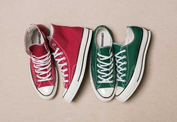 Nhận biết giày Converse chính hãng qua mũi giày