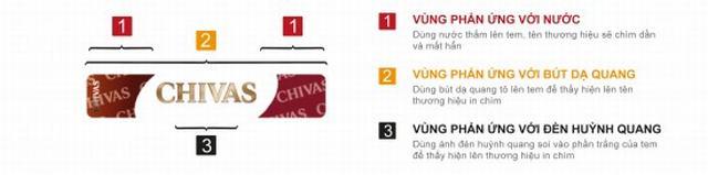3 dấu hiệu đơn giản nhất giúp phân biệt rượu Chivas 12 thật và giả