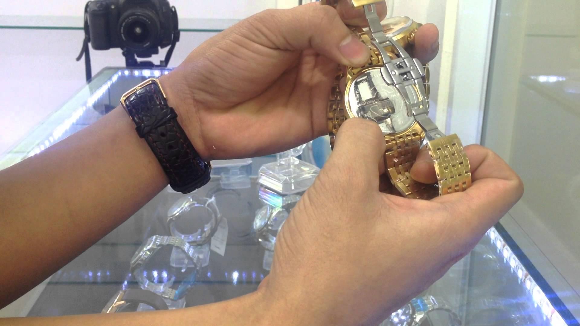 Kiểm tra thật kỹ phần khóa của đồng hồ OP