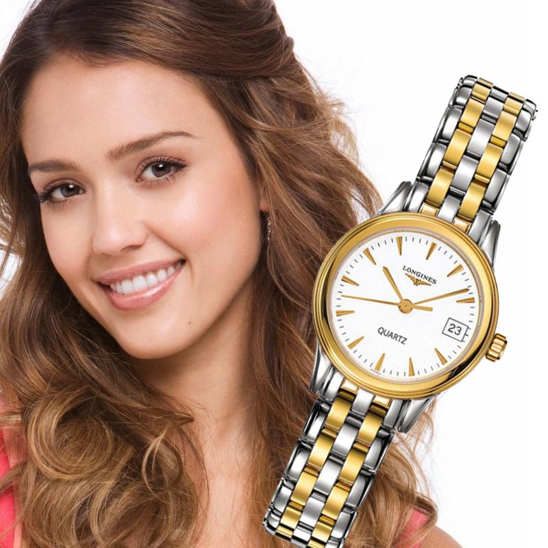 Đồng hồ Longines L8.113.9.78.6 nhẹ nhàng duyên dáng cho phái đẹp