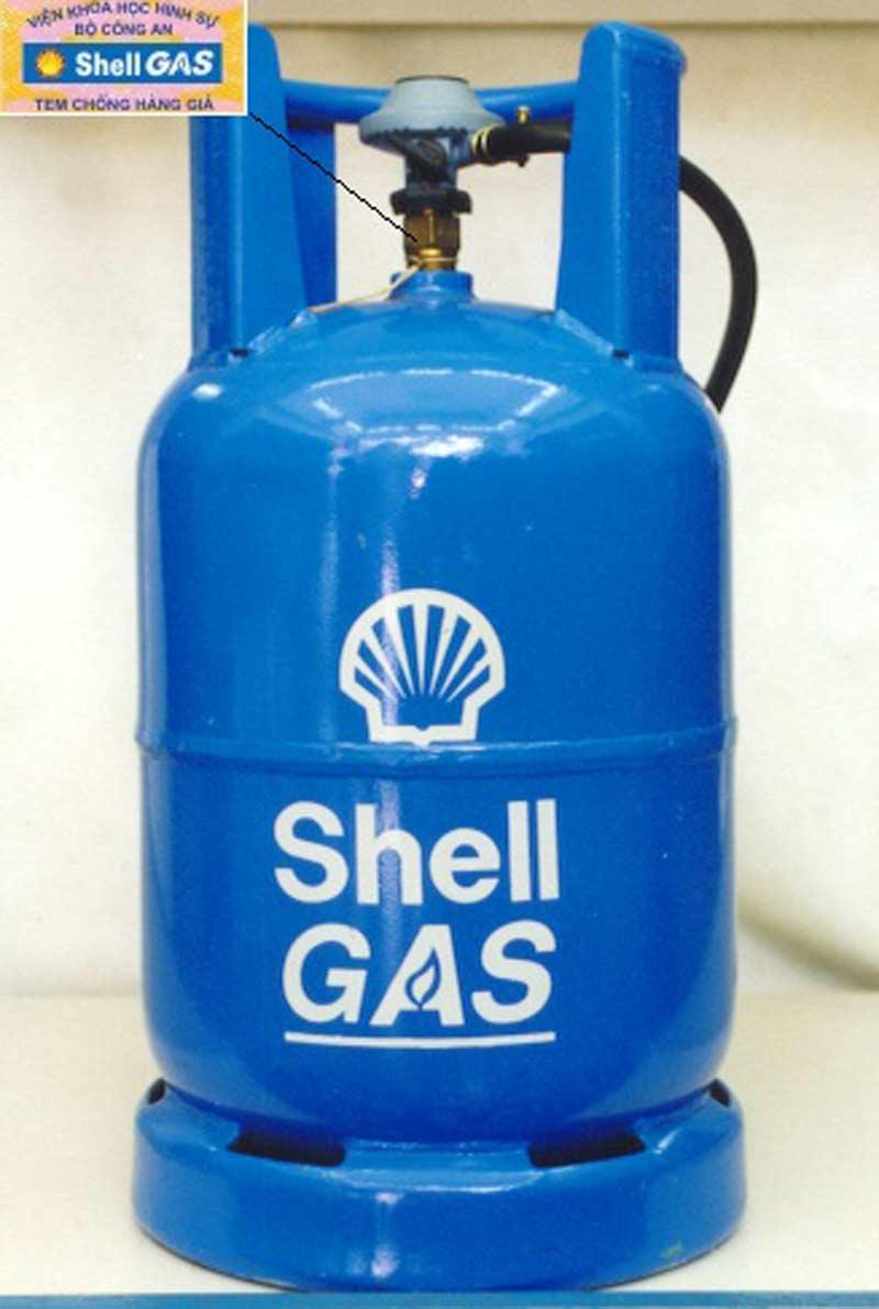 Cách phân biệt bình gas thật và giả