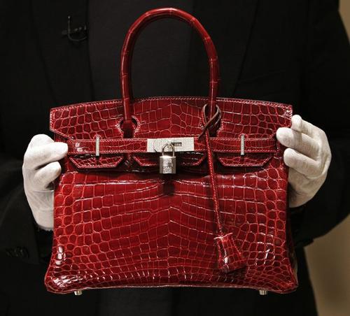 Các đường nét của một chiếc túi xách Hermes Birkin chính hãng
