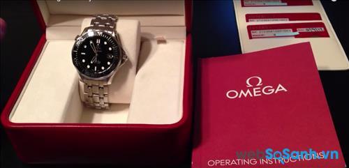 Quy cách đóng gói chuẩn của đồng hồ Omega