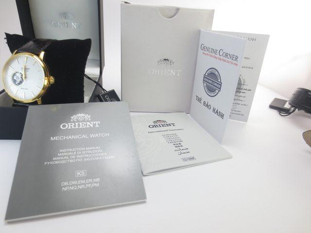 Nhận biết đồng hồ Orient chính hãng
