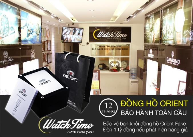 Đại lý phân phối đồng hồ Orient chính hãng