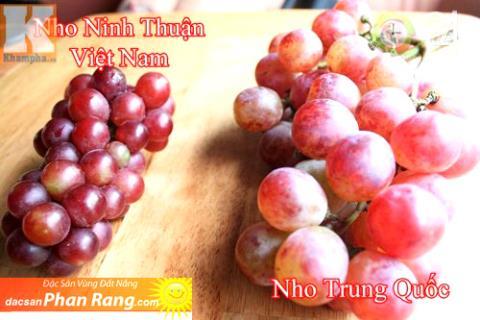 Phan biet nhoNinh Thuan that gia bay ban day duong