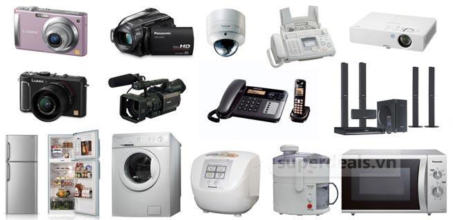 Các sản phẩm điện tử mà Panasonic sản xuất