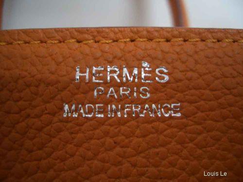 Hermès thật và giả