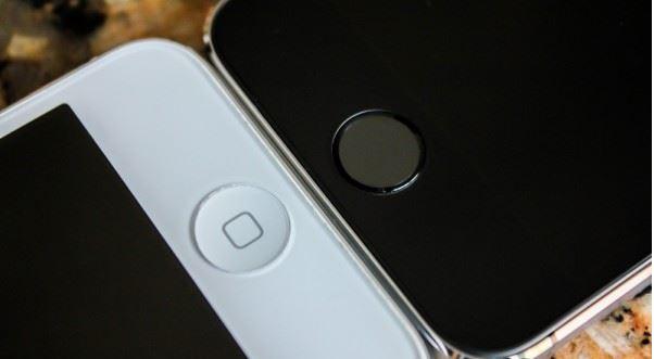 Sự khác biệt về nút Home của Iphone 5 thường và Iphone 5s