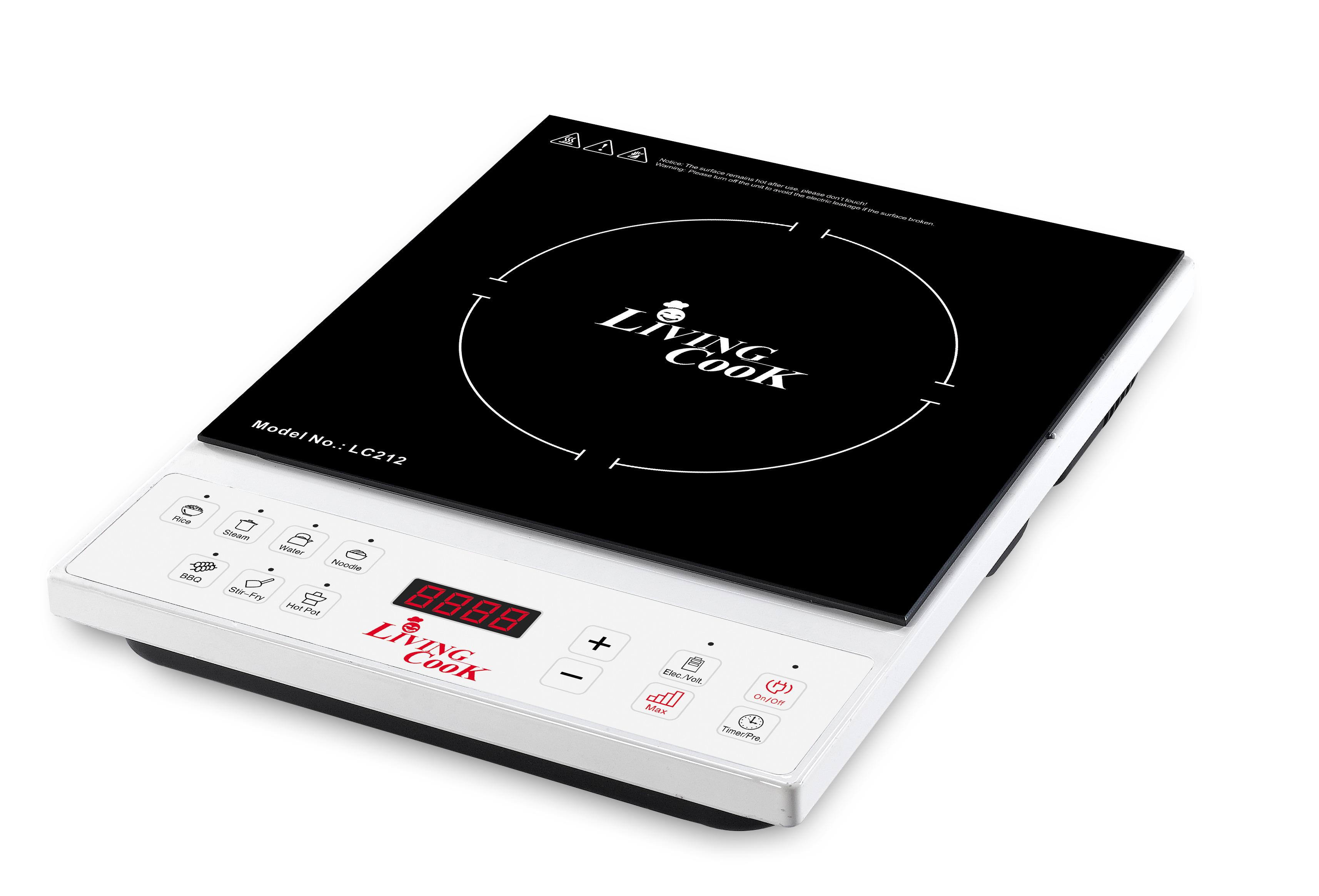 Các nút điều khiển trên bếp từ