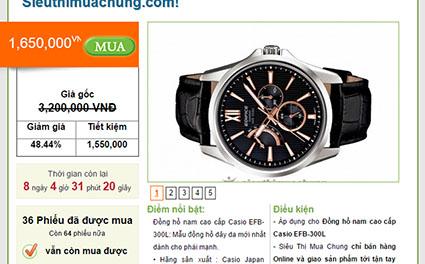 Phân biệt đồng hồ Casio chính hãng và giả mạo