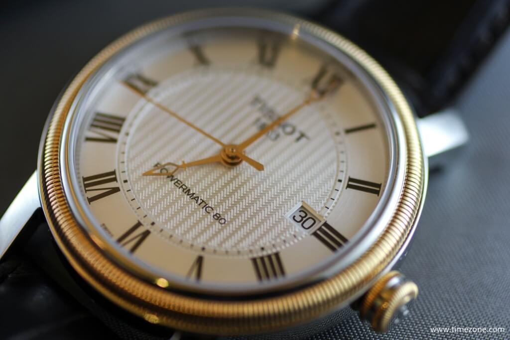 Mặt kính đồng hồ Tissot T-Classic đến từ Thụy Sỹ