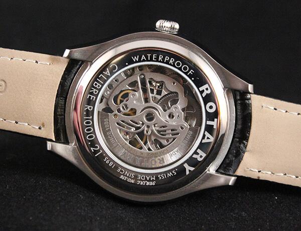 Mặt sau đồng hồ Rotary Jura