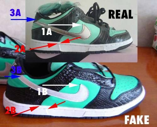 Bằng cảm quan, bạn hãy nhìn ra những điểm khác nhau giữa hàng fake và real thử xem!