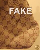 Túi Gucci giả có nếp gấp