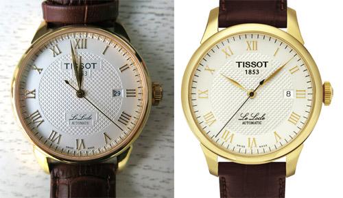 Phân biệt đồng hồ Tissot thật và nhái