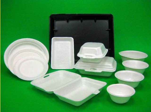 Sản phẩm thường được làm từ nhựa P.S
