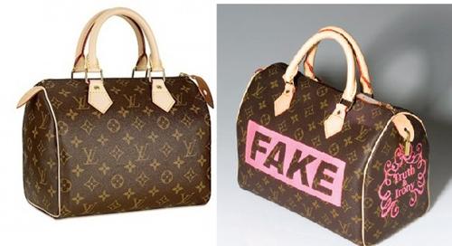 Túi xách Louis Vuitton Thật và Nhái