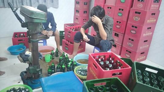 Bia giả được làm ngày càng tinh vi hơn