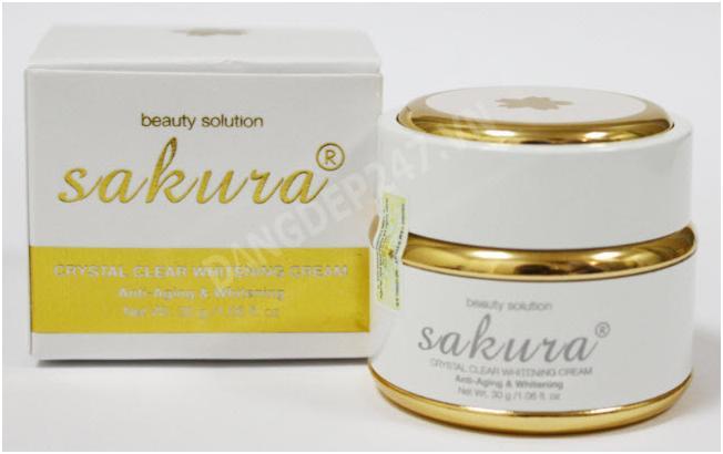 Mỹ phẩm Sakura và cách phân biệt hàng Thật Giả