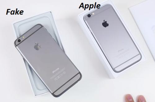 Nhận biết iPhone 6 hàng dựng và Chính Hãng