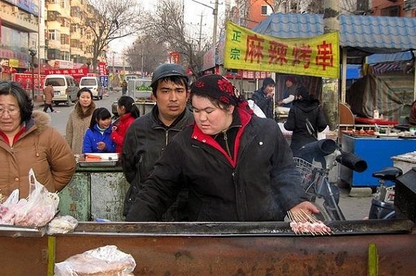 Thịt cừu Giả được bày bán tràn lan và rất thành công