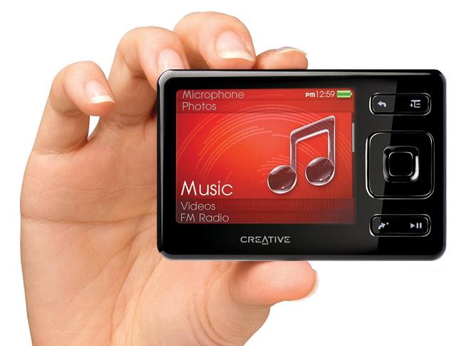Phân biệt máy nghe nhạc Creative Thật và Giả