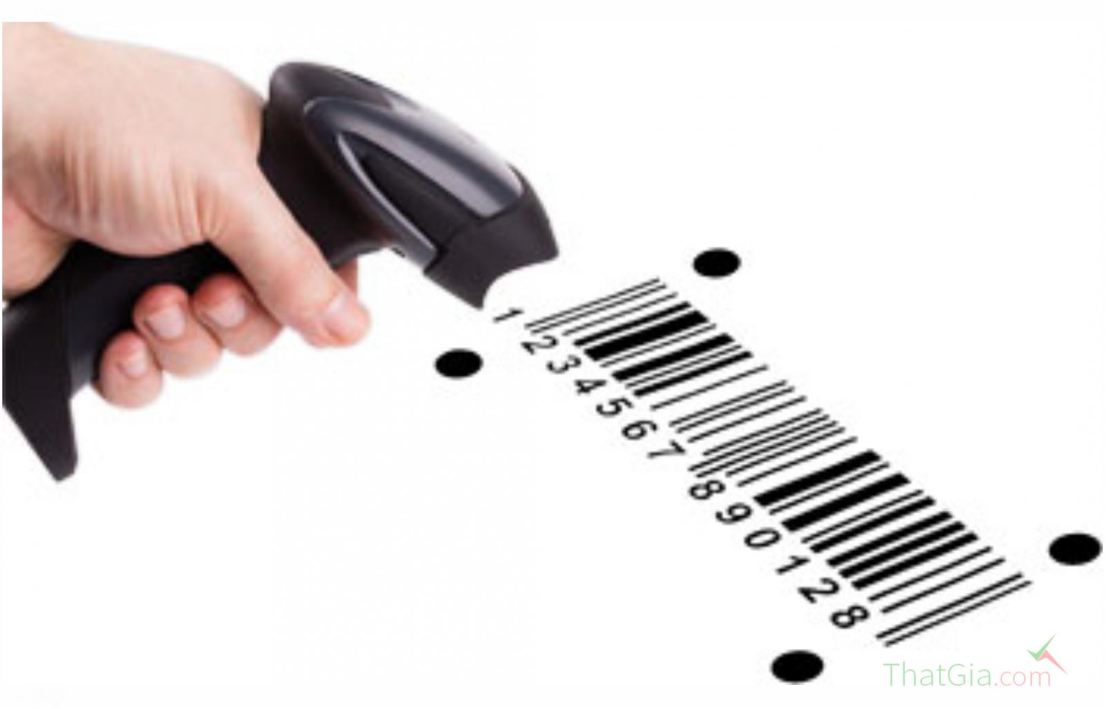 Xác định mã vạch được đăng ký thông tin quốc tế