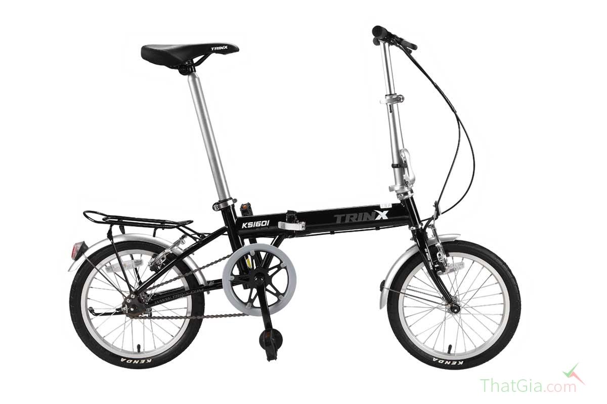 4 bước nhận biết xe đạp gấp chính hãng