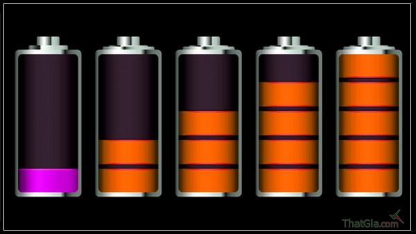 Dung lượng pin iphone 4/4s giả thấp