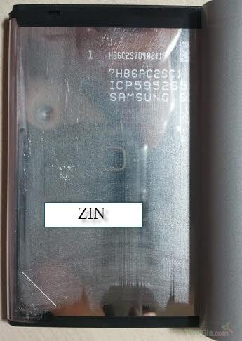 Nhận biết Pin Samsung Galaxy note 2 qua vỏ pin