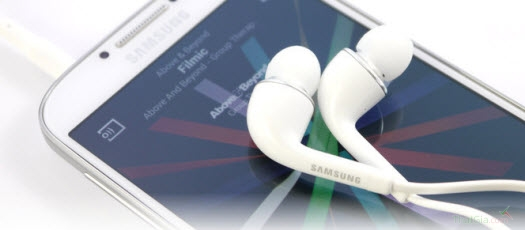 Tai nghe Samsung Galaxy S4 mang phong cách trẻ trung