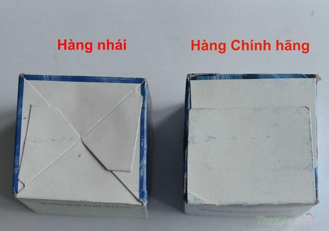 Đáy hộp được thiết kế hoàn toàn khác nhau
