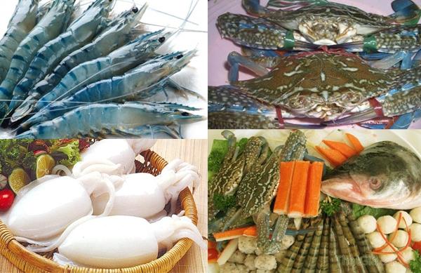Mẹo chọn hải sản tươi