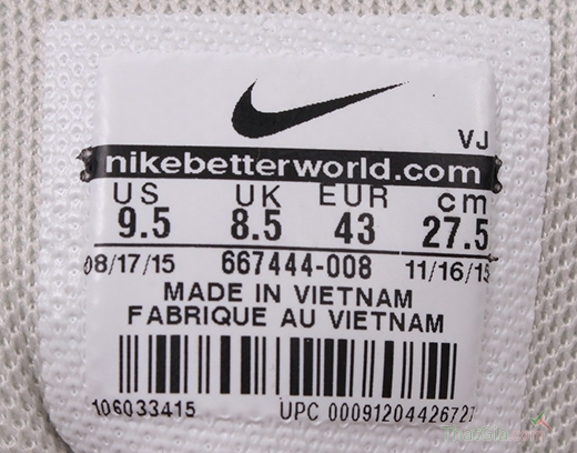 Mẹo nhận biết giày Nike Chính Hãng chuẩn nhất