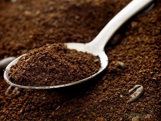 Bột cà phê ít ngậm nước