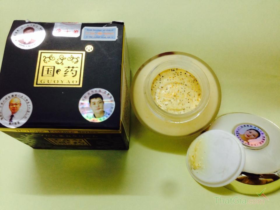 Phân biệt kem sâm Guoyao Thật- Giả