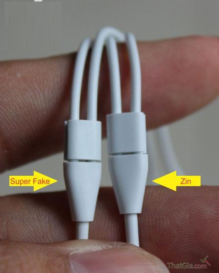 Nhận biết tai nghe iPhone 6 Plus chính hãng