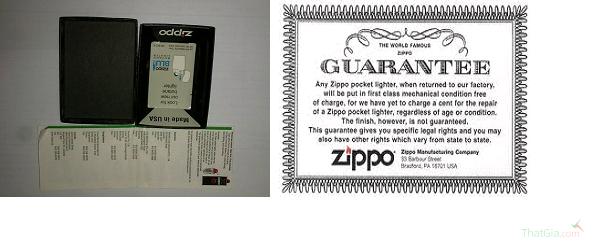 Nhận biết Zippo Thật và Giả cực đơn giản