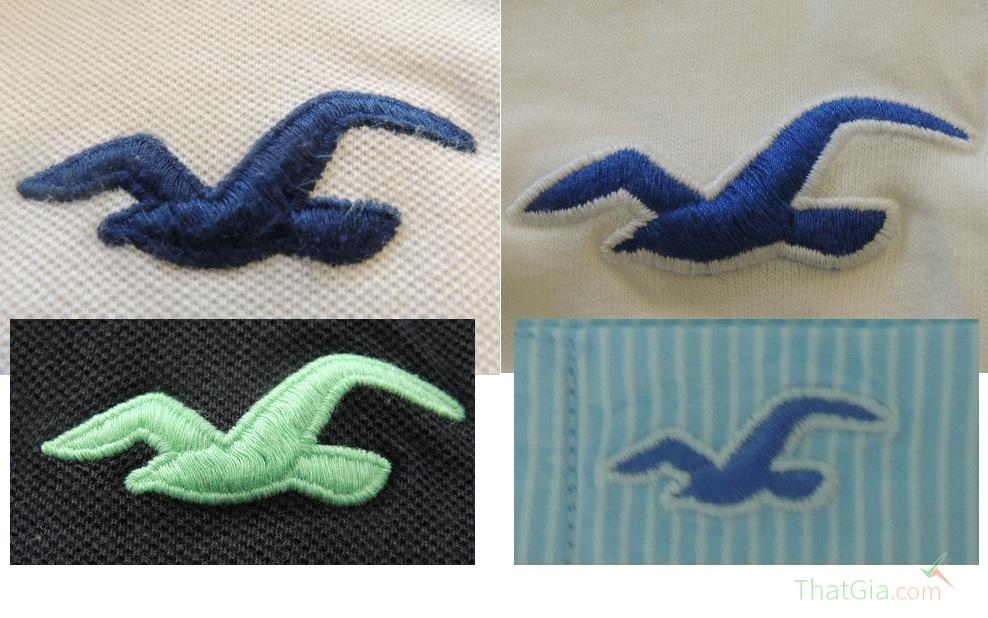 Biểu tượng cánh chim của áo Chính Hãng