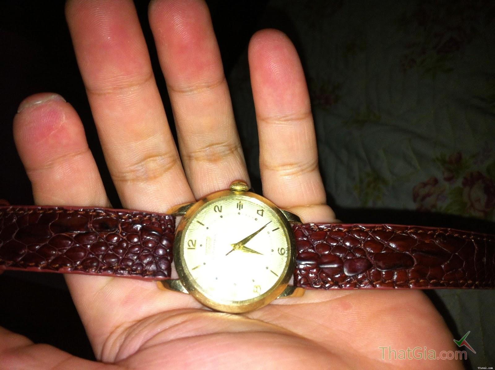 Đồng hồ dây da cá sấu Thật thường sang trọng và đẳng cấp