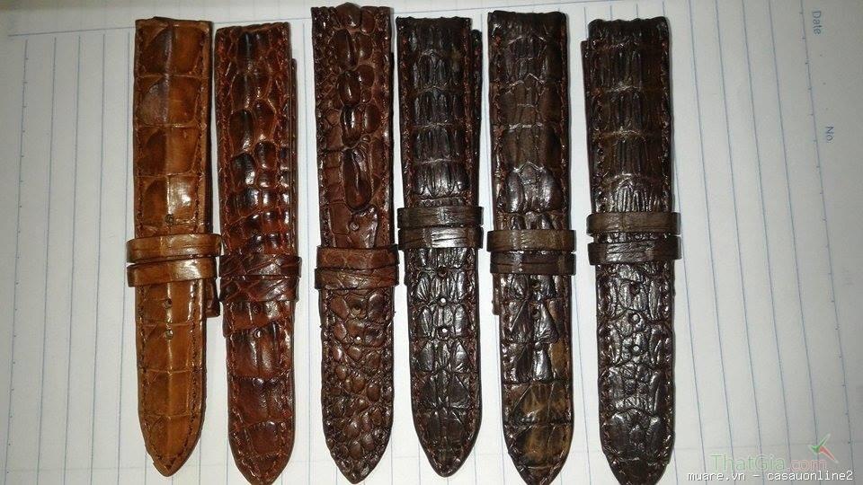 Bạn đã biết phân biệt đồng hồ dây da cá sấu thật hay giả chưa?